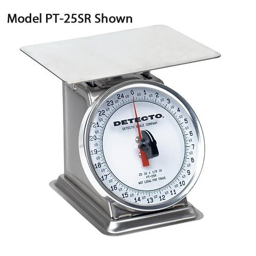 Detecto Mechanical Dial Type Portion Scale, 25 lbs by Detecto
