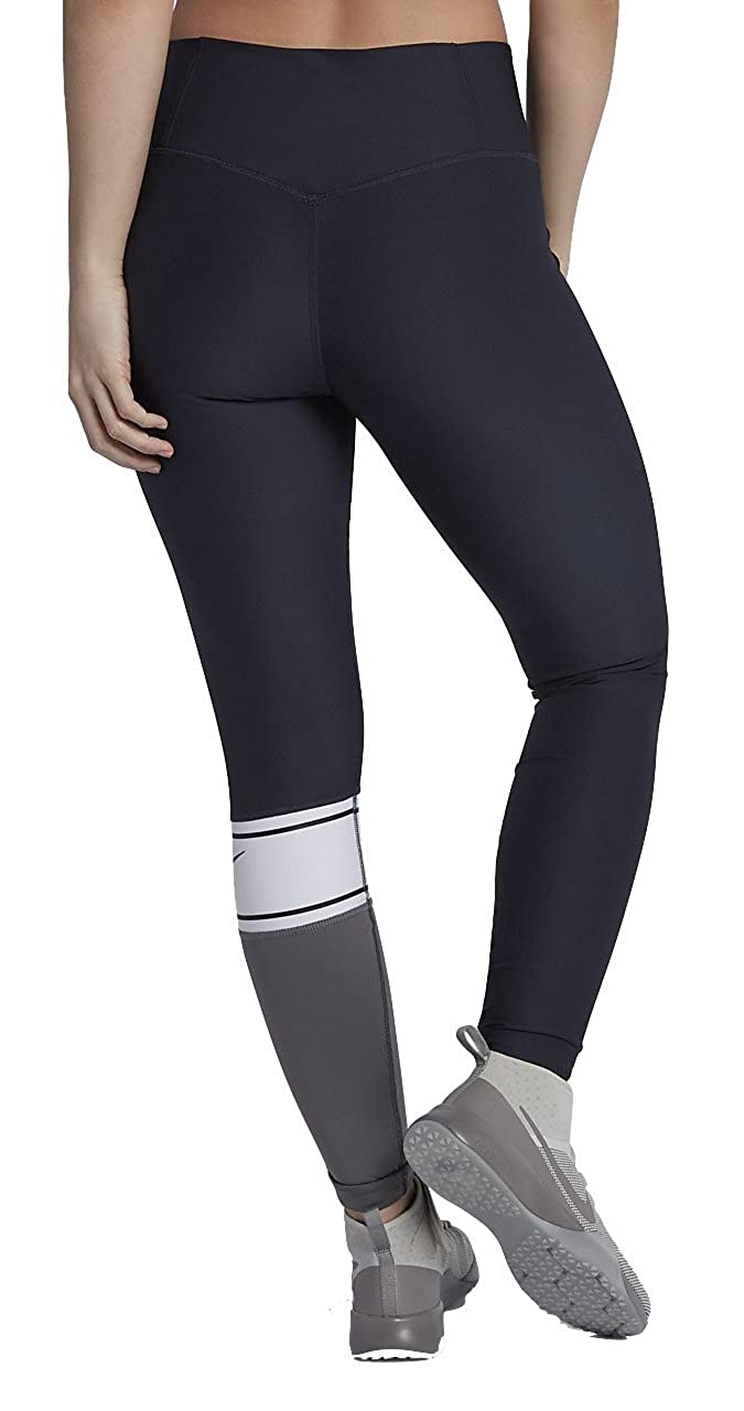 5a5b37d02a308 Amazon.com: Nike Power Women's Training Tights (Obsidian/White/Black/Dark  Grey, X-Large 28): Shoes