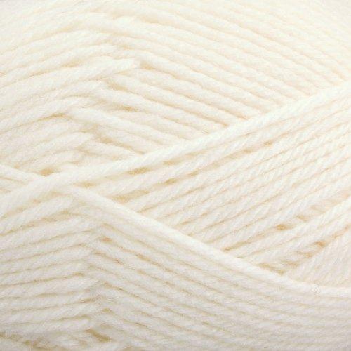 Yarn Wool Pure (Rowan Pure Wool Worsted Superwash Yarn Ivory 0101)