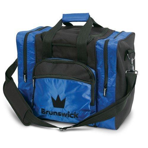 Brunswick Edge Single Tote Bowling Bag, Blue - Edge Tote