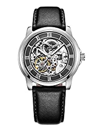 Kenneth Cole New York Men's KC1514 Automatic Gunmetal Silver-Tone Watch With Leather Band by Kenneth Cole New York