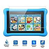 """Fire Kids Edition Screen Protector, Vikoo 9H Hardness 2.5D Ultra-thin Anti-Scratch HD Clear Ballistic Tempered Glass Screen Protector for Fire Kids Edition, 7"""" Display,2015"""