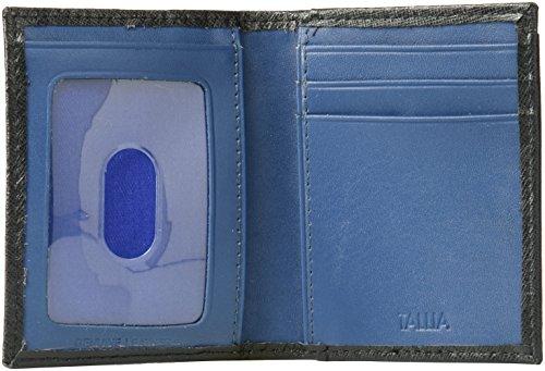 Van Saffiano Card Heusen Case Van Men's Black Wallet Heusen dIffnzqw