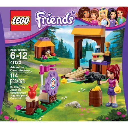 Lego Friends 41120 Adventure Camp Archery  An Archery Range With A Knock Over Target By Lego