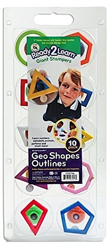 Center Enterprises Ready2Learn Giant Stampers (Geometric Outline) 1 pcs sku# 1846133MA