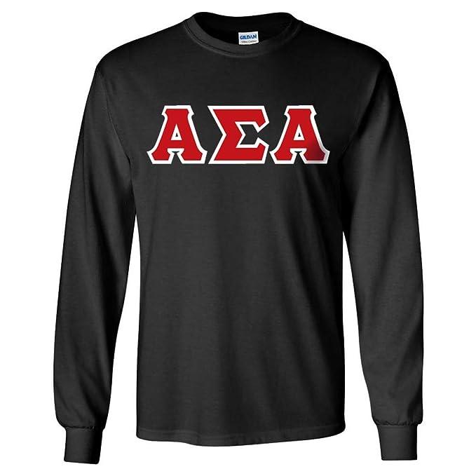 Custom Sorority Long-Sleeve Shirt with 4