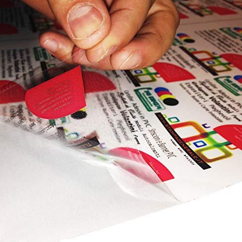 2AINTIMO 2 aintimo Papel Adhesivo * A3 A4 A5 * Transparente * para ...