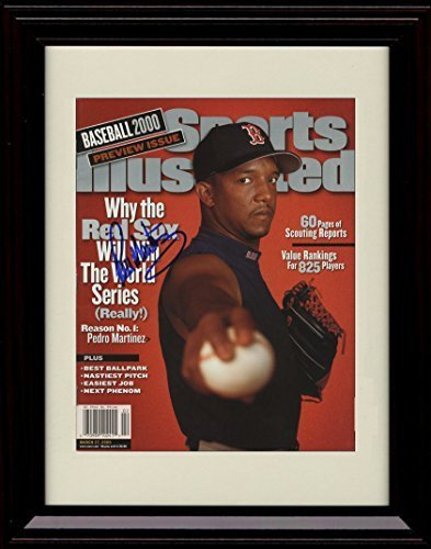 完売 フレーム付きPedro Martinez Sports Illustrated Autographレプリカ印刷3 Martinez/ 27 Illustrated/ 2000/ B01MXLGMM2, 想いを繋ぐ百貨店【TSUNAGU】MEN:d287cb65 --- arianechie.dominiotemporario.com