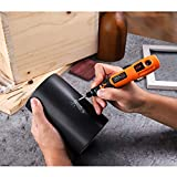 TACKLIFE Cordless Rotary Tool Lite 3.7V Three Speed with 31 Accessories, Perfect for Nail Polishing and Light Duty, USB Charging Cable-PCG01B