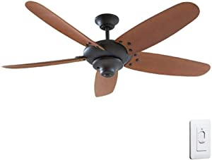 "Home Decorators ""Altura"" 60"" Outdoor Oil Rubbed Bronze Ceiling Fan"