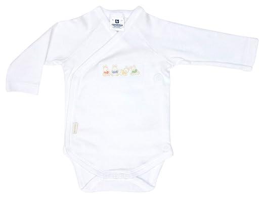color blanco Body deportivo para reci/én nacidos Cambrass 9073 talla 56 cm