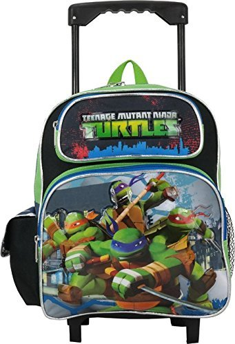 Ruz Teenage Mutant Ninja Turtles Toddler 12 Rolling Backpack [並行輸入品]   B078WXBXPX