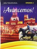 ¡Avancemos!: Student Edition Level 2 2013 (Spanish Edition)