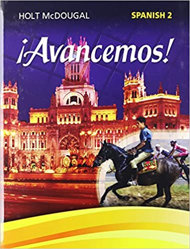 avancemos student edition level 2 2013 spanish edition