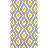Sun & Slate Ikat Guest Towels ECO Party Disposable Tableware and Supply, Paper, 2 Ply, 8'' x 4'', Pack of 16.