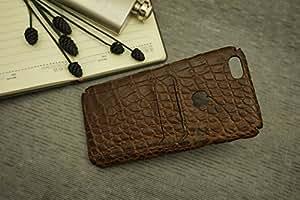 Handmade Genuine Crocodile Leather Phone Case