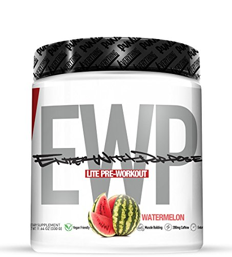 Run Everything Labs | EWP LITE | Enter with Purpose | PRE Workout (30 Servings) (Watermelon)