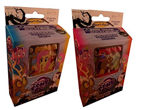 My Little Pony - Collectible Card Game - Absolute Discord - Set of 2 Theme Decks
