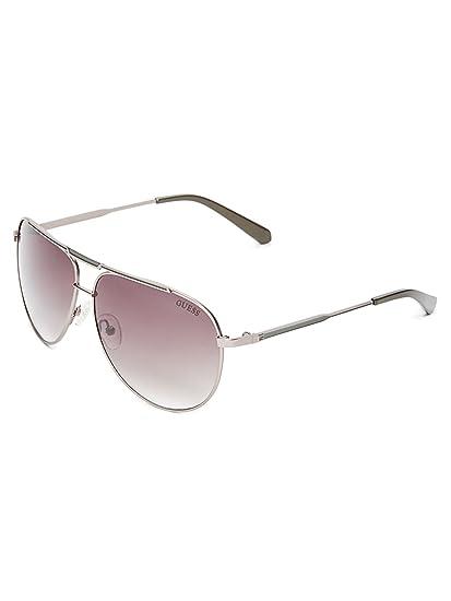 0541a596d22f GUESS Factory Men s Pilot Aviator Sunglasses  Amazon.co.uk  Clothing