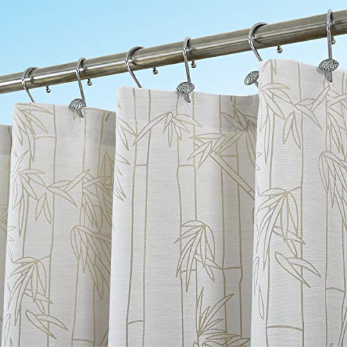 Curtain Rings Bamboo Shower - Bayside Wind 72