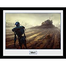Fallout Framed Collector Poster - 4, Farming Robot (16 x 12 inches)