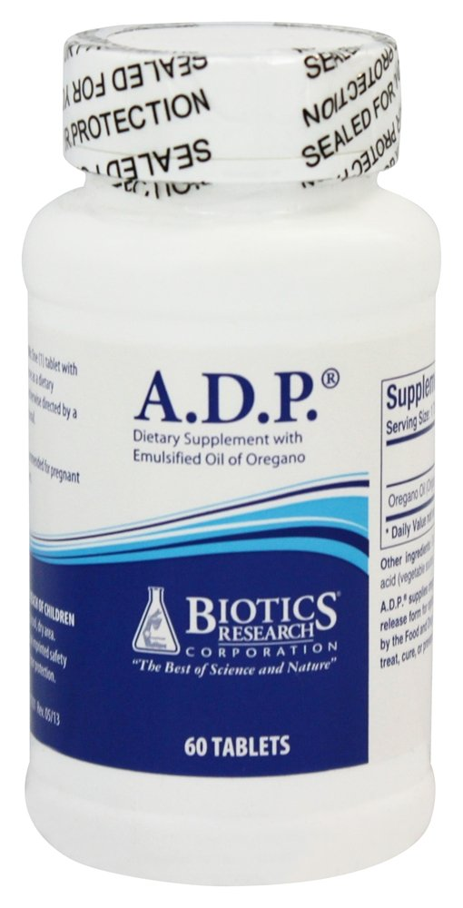 Biotics Research A.D.P. Digestive Formula -- 60 Tablets