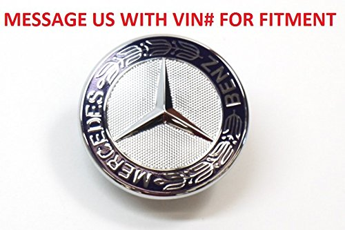 Mercedes-Benz Hood Star Emblem Badge Genuine Original 2048170616