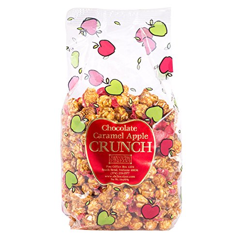 South Bend Chocolate Company Chocolate Caramel Corn Caramel Apple Crunch Gift Bag - 1 (Halloween Caramel Apples Gifts)
