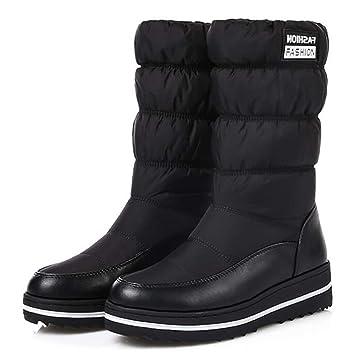 promo code 062d1 b18af HhGold Frau Schneestiefel Warm Baumwolle Runter Schuhe ...