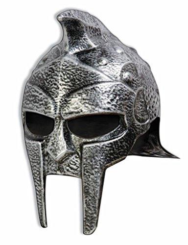 Forum Novelties Roman Gladiator Helmet, Silver, One Size by Forum Novelties