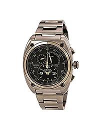 Seiko Kinetic Chronograph Limited Edition Black SNL073 Mens Watch
