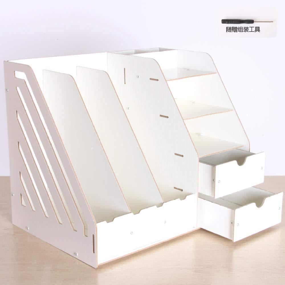 in legno Humeng formato A4 riviste Oak Cartellina portadocumenti da ufficio per libri