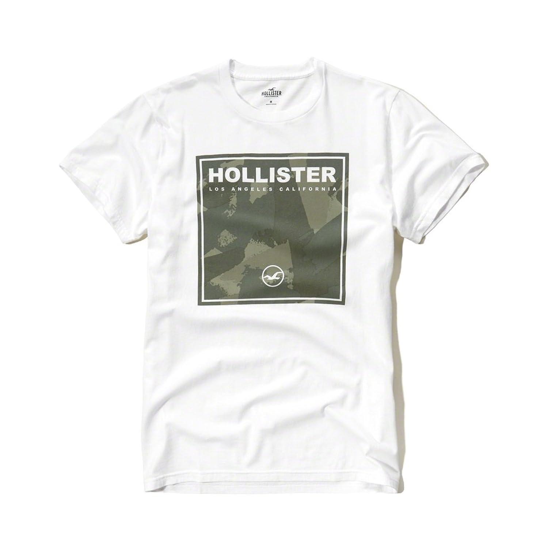 Hollister Co Camo Logo Graphic Tee Camo Graphic Crew Neck T Shirt