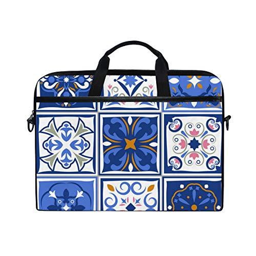 Fine Ceramic PictureHandbag Laptop Briefcase, Multi-Functional Shoulder Messenger Bag for Notebook Computer Tablet. (Kyocera Fine Ceramics)