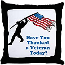 """CafePress - Have You Thanked A Veteran Today? - Decor Throw Pillow (18""""x18"""")"""