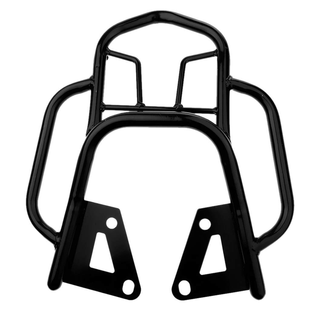 Noir gazechimp Support Arri/ère De Support De Bagage pour MSX125 Support De Sac De Selle De Selle Arri/ère en M/étal pour Moto//Scooter//SUV//Voiture//V/élo