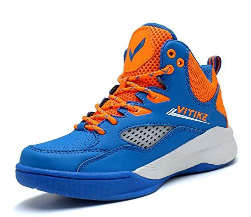 Zapatillas de Baloncesto Unisex para niños y niñas con Cordones ...