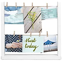 Umbra Hangit: DIY Collage Picture Frames for Desktop, Easy To Assemble All Accessories Included; Perfect for Picture Collages, Artworks, Prints, Family Photos and Vacation Pictures