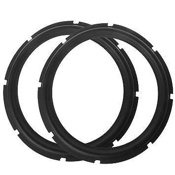 Jiamins 8/10/12 Pulgadas Subwoofer Altavoz Envolvente Espuma Plegable Edge Reparación de Sonido Accesorio: Amazon.es: Electrónica