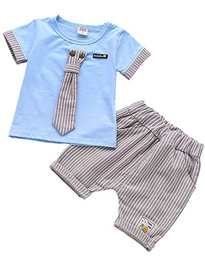 3af044cfcdc72 Ancia 2017 Baby Boys Kids 2 Pieces Fall Clothing Set T-Shirt Pants Outfits