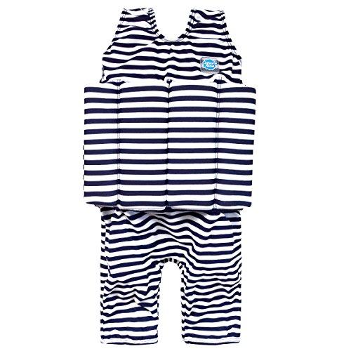 Splash About Short John Float Suit Stripe, Navy White (1-2 years)