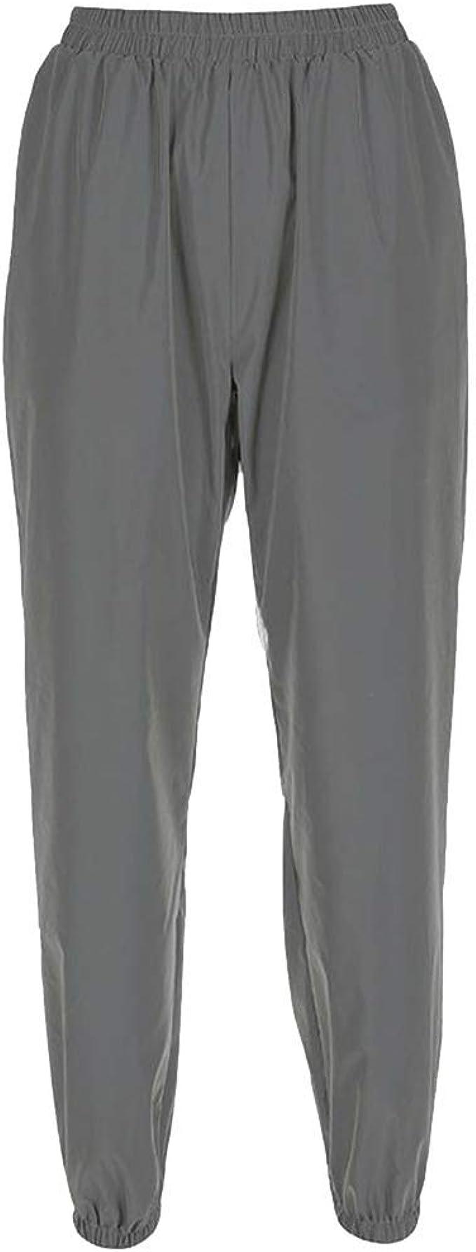 Eamqrkt Pantalones Reflectivos Para Mujer Amazon Es Ropa Y Accesorios