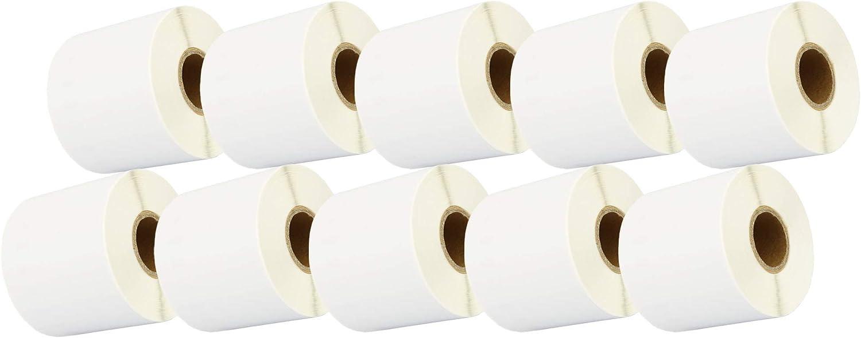 compatibile per Dymo LabelWriter /& Seiko etichettatrici 110 Etichette per Rotolo Cartridges Kingdom 99019 S0722480 59mm x 190mm Etichette di indirizzo