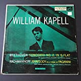 WILLIAM KAPELL Beethoven: Concerto No. 2, in B-Flat, NBC Symphony Orchestra, Vladimir Golschmann, Conductor and Rachmaninoff: Rhapsody on a Theme of Paganini, Fritz Reiner conducting the Robin Hood Dell Orchestra of Philadelphia