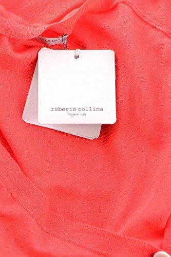 Roberto Collina Mujer MCBI260007O Rojo Cachemir Cárdigan