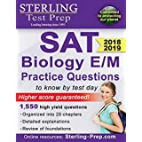 Sterling Test Prep SAT Biology E/M Practice Questions: High Yield SAT Biology E/M Questions