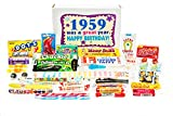 Woodstock Candy ~ 1959 60th Birthday Gift Box of Retro Nostalgic Candy Mix from Childhood for 60 Year Old Man or Woman Born 1959 Jr