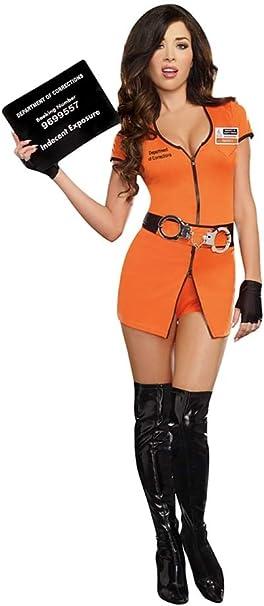 Amazon.com: Dreamgirl disfraz de prisionera para mujer: Clothing