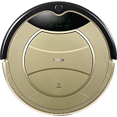 Haier Robotic Vacuum Cleaner Automatic Floor Cleaner with Self Charging and Wet Mop