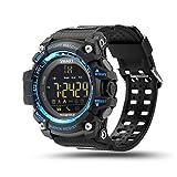 Smart Watch, AKImart Outdoor Bluetooth Digital Sports Smart Watch LED 5ATM Waterproof SMS Notifier Pedometer